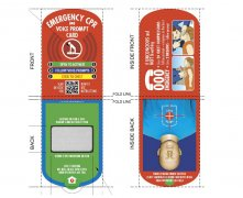 CPR-C AED training helper CPR voice card