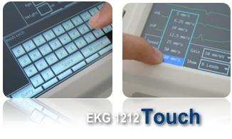 EKG 1212Touch keyboard